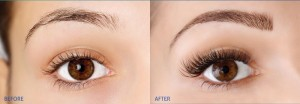 Brow Perect before & after