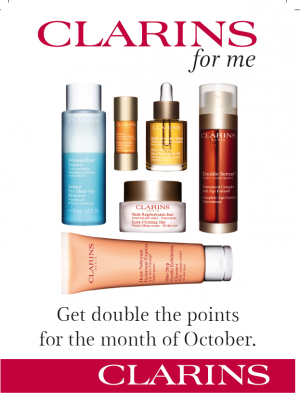 CLARINS DP Oct 15